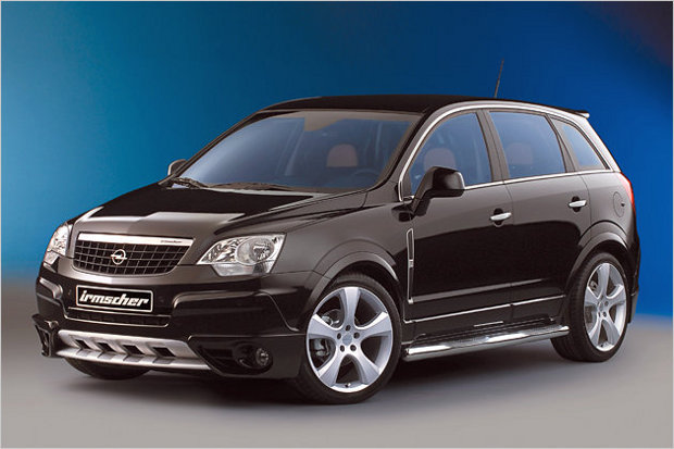 Irmscher offers sporty after-market LPG conversion for the Opel Antara