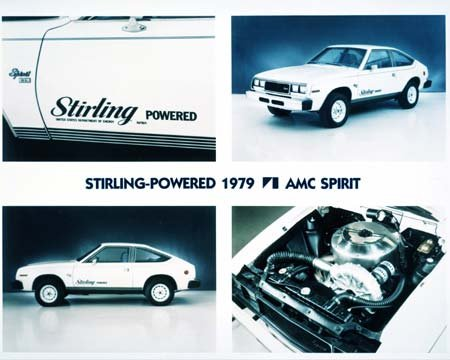Nasa Auto Racing on Nasa Stirling Powered Amc Spirit   Click Above For Image Gallery