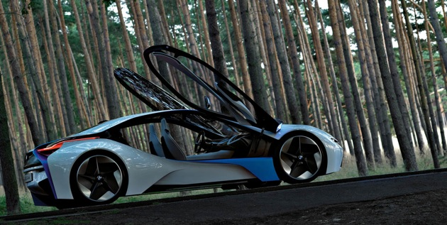 BMW Vision Efficient Dynamics Concept - click above for high-res image