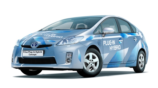 toyota prius plug-in hybrid vehicle