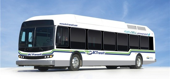 bc transit hydrogen bus