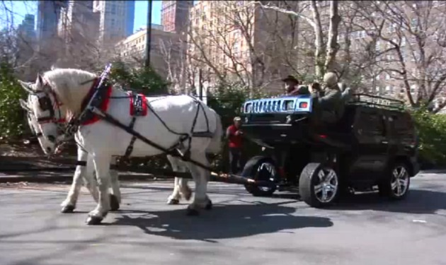 HUMMER Horse Carriage