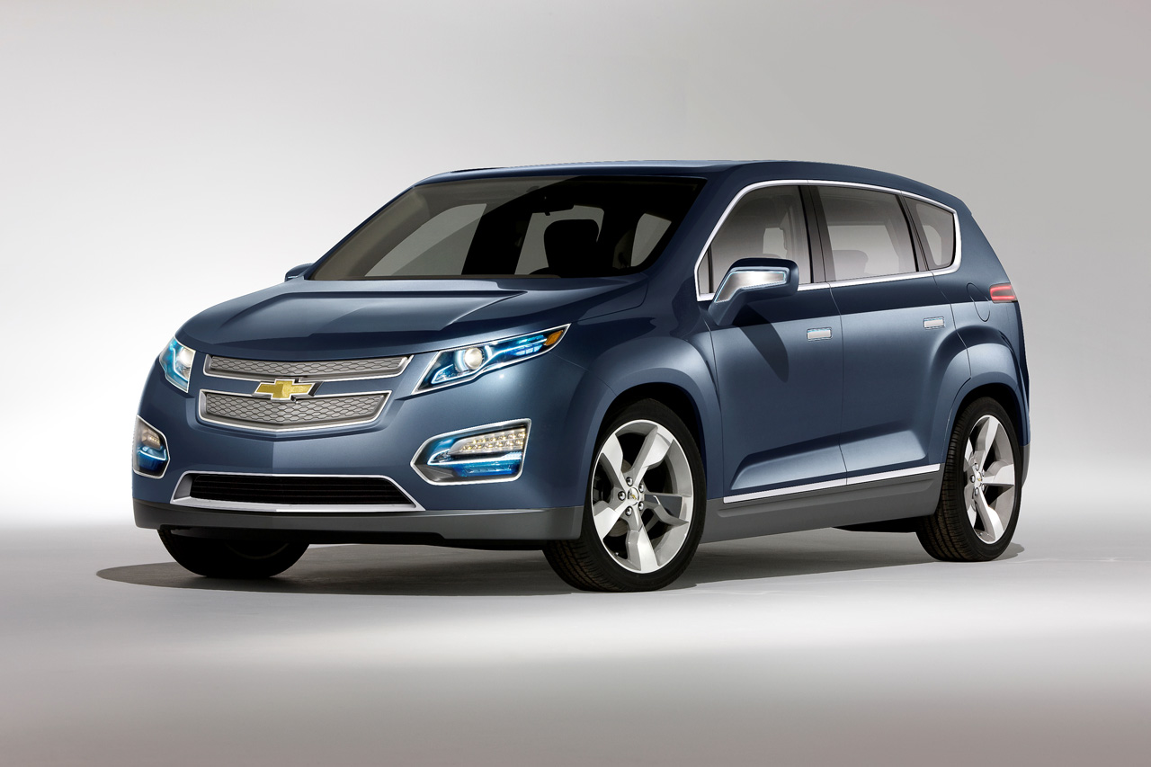 Pre Owned Chevy Volt Chevrolet Volt MPV5 concept Photo Gallery - Autoblog