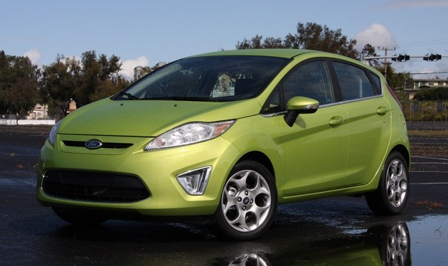 officially official 2011 ford fiesta rated at 40 mpg highway. Black Bedroom Furniture Sets. Home Design Ideas