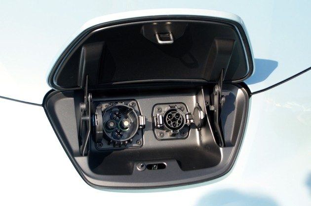 Nissan Leaf Charging Ports U2013 Click Above For High Res. Image Gallery
