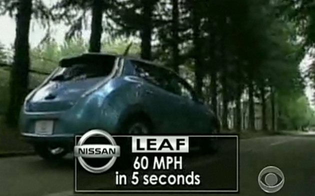 can the nissan leaf really run 0 60 mph in 5 seconds not. Black Bedroom Furniture Sets. Home Design Ideas