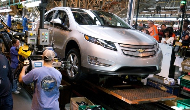 chevy volt factory