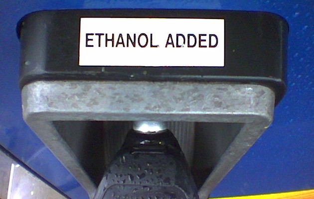 gas pump ethanol sticker