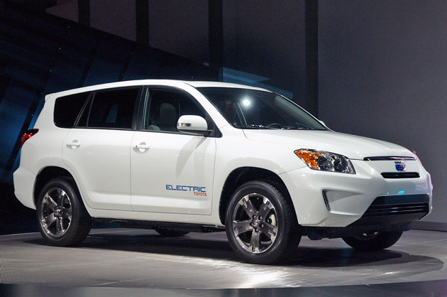 Toyota RAV4 EV – Click above for high-res image gallery
