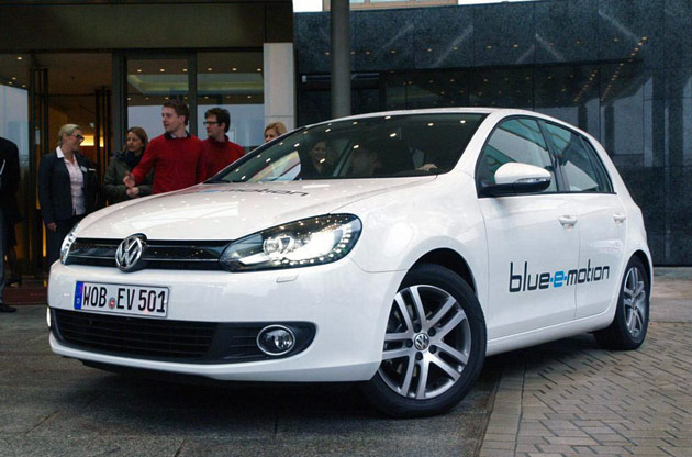Volkswagen Gold Blue-e-motion