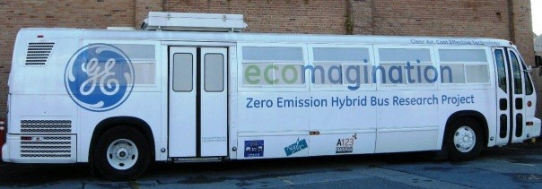 GE Electric Bus of the Future