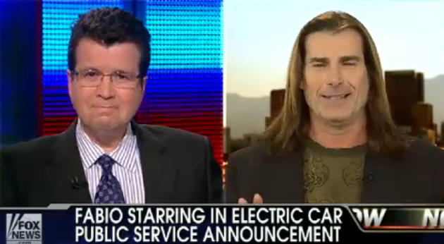 fabio fox news electric car