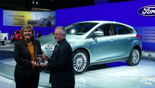 ford focus electric green car vision award