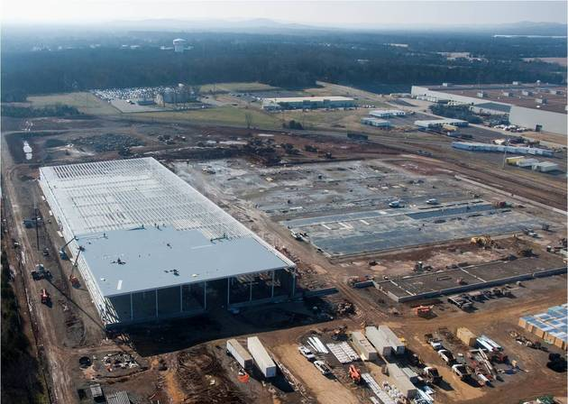 Nissan Smyrna battery plant
