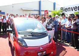 Mitsubishi i-MiEV in Costa Rica
