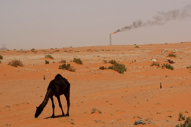 Saudi oil field