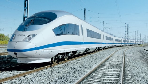 Siemens Valero high speed train