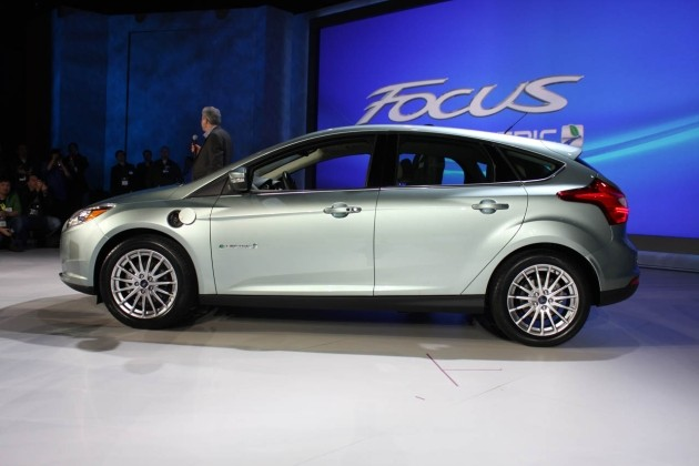 Ford Focus Electric at CES
