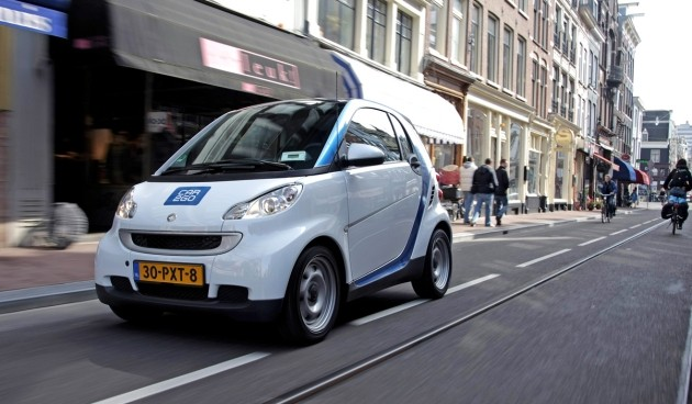 Electric Car2go in Amsterdam