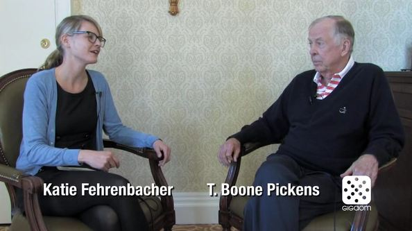 Green Overdrive interview T. Boone Pickens