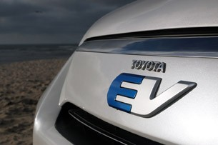 Toyota RAV4 EV badge
