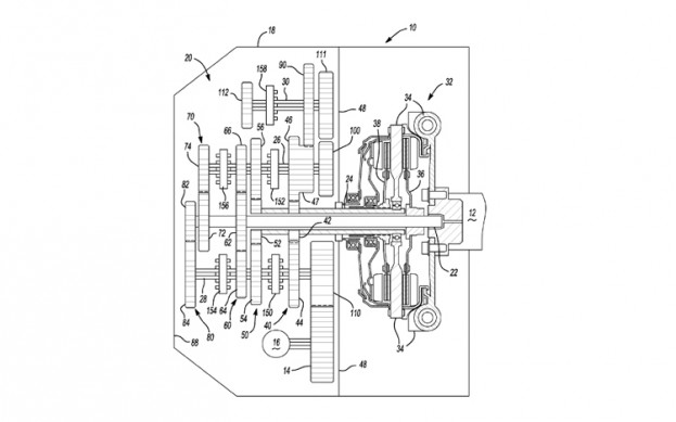 GM's 7-speed dual-clutch trans patent filing
