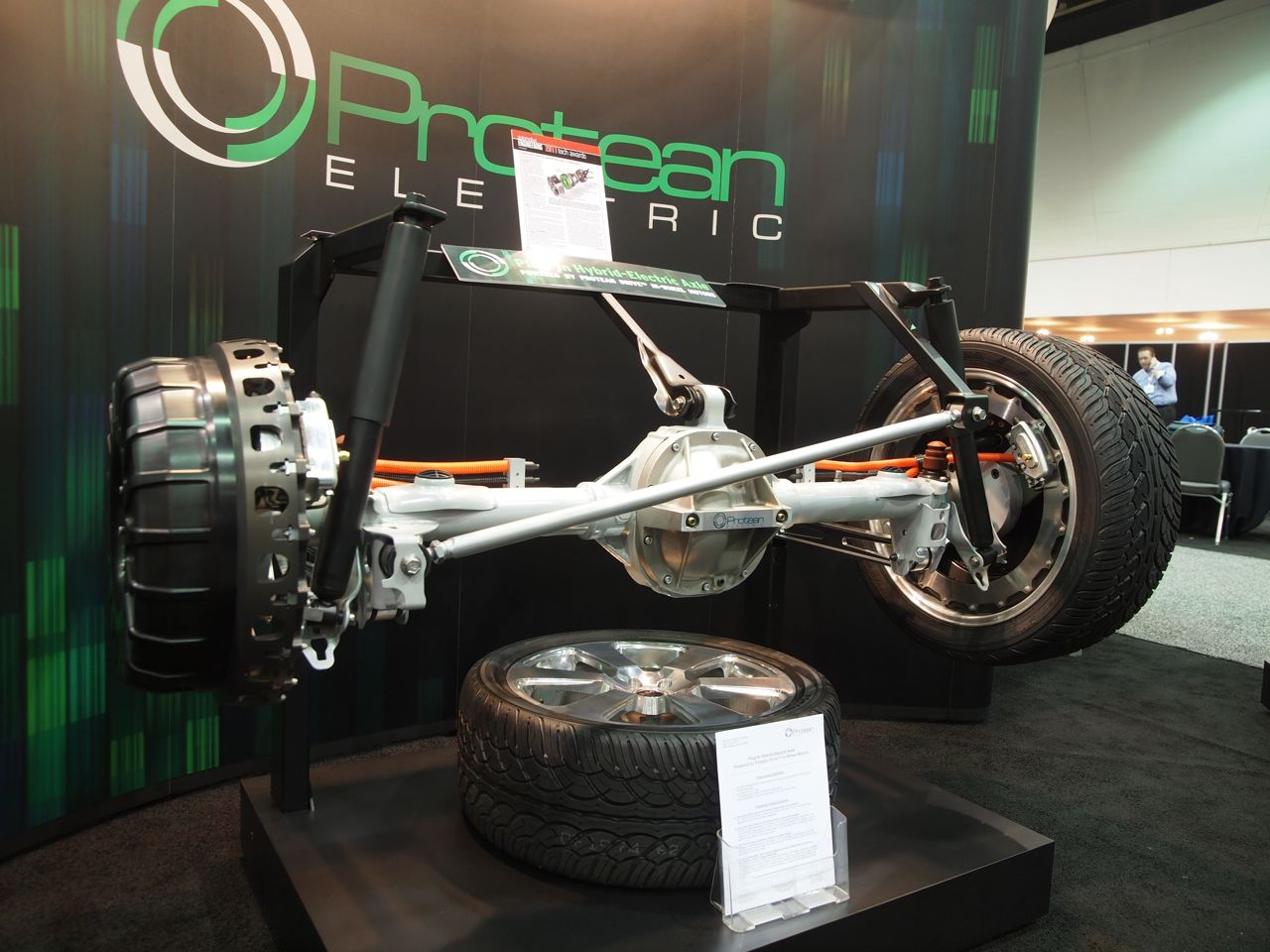 Sae World Congress >> Ford F-150 with Protean In-Wheel Motors Photo Gallery ...