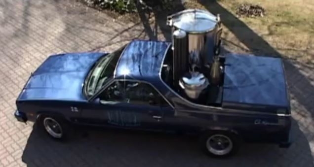 Video: Finnish politician converts 1987 El Camino to run on wood gas