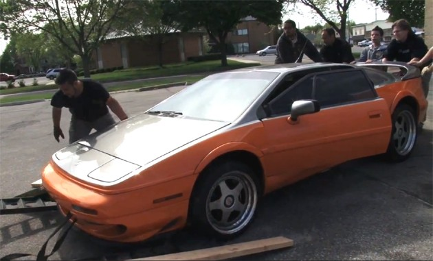 Geek Group take delivery of 1997 Lotus Esprit