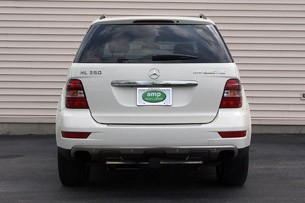 Amp Electric Mercedes-Benz ML EV rear view