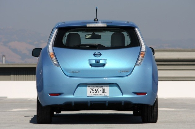 Nissan Leaf rear view