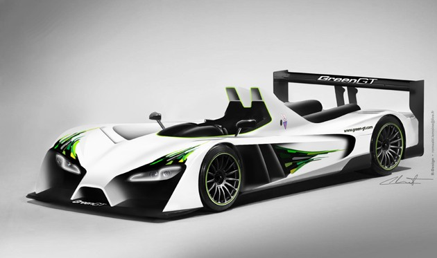 Render of  Green GT LMP H2