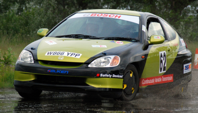 Honda Insight rally vehicle