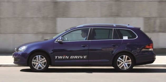 VW Golf Twin Drive plug-in hybrid