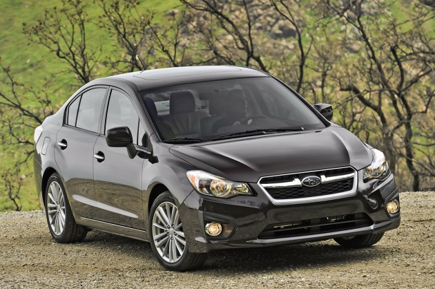 2012 Subaru Impreza four-door