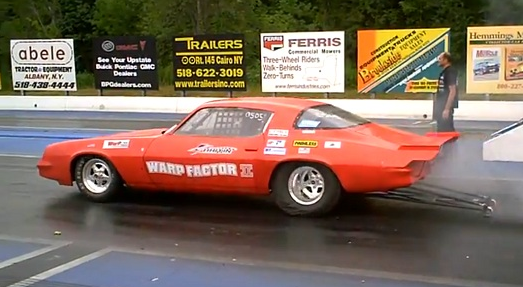 Electric Chevy Camaro Tears Down 1 4 Mile In 10 08 Seconds