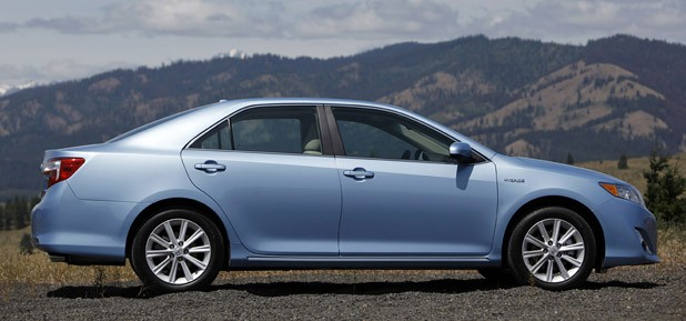 2012 Toyota Camry Hybrid side view