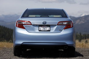2012 Toyota Camry Hybrid rear view