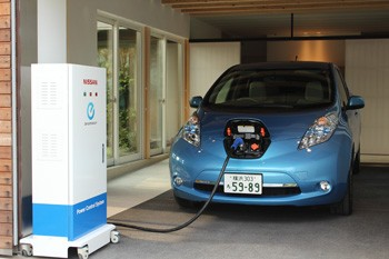 Nissan Leaf to house system