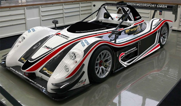 Toyota Motorsports GmbH electric race car