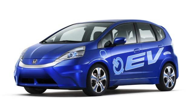 Honda Fit electric concept