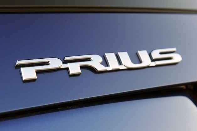 2011 Toyota Prius badge