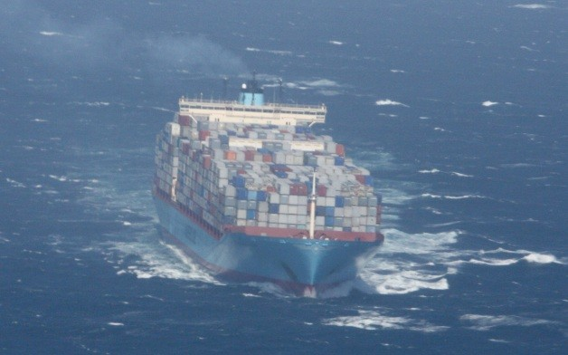 Container ship Margrethe Maersk