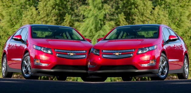 two chevy volts