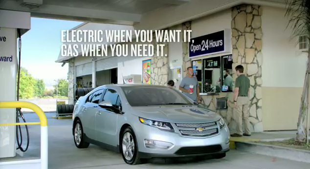 Chevy Volt commercial