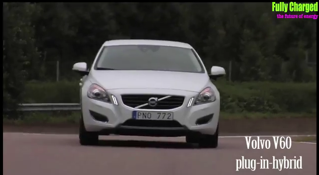 Fully Charged drives Volvo V60 plug-in hybrid