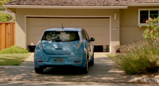 iphone 4s nissan leaf ad
