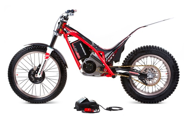 Gas Gas TXT E electric trials bike in profile