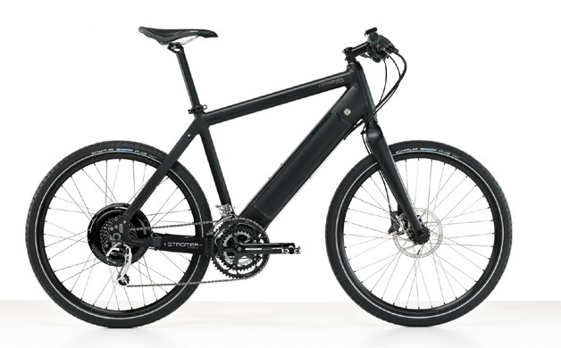 Stromer electric bicycle in black