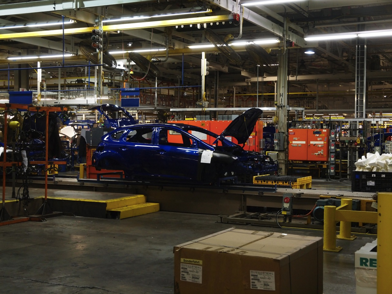 Ford assembly plant in michigan #5